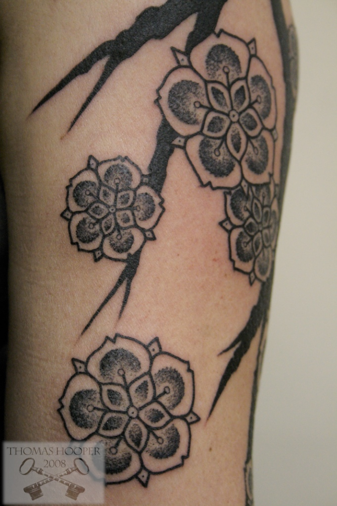 cherry blossom tattoo symbolism