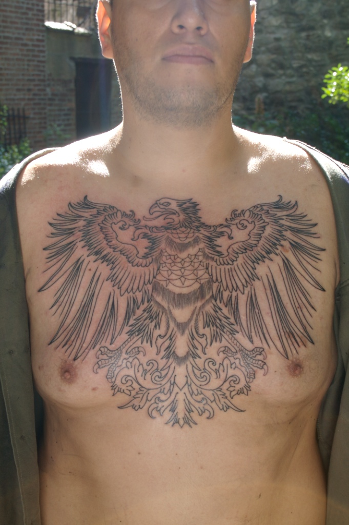 eagle tattoo designs. Eagle Tattoo Chest