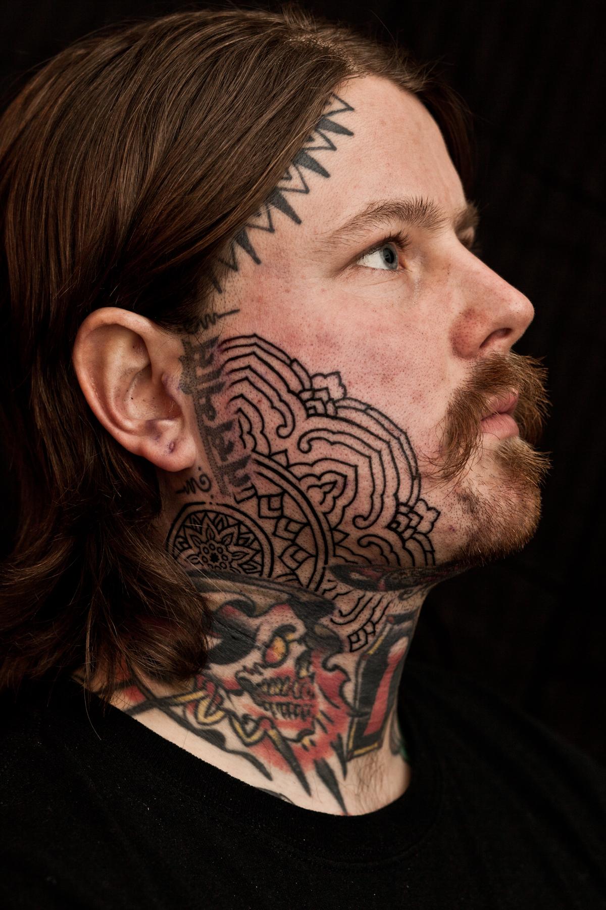 Posts tagged face tattoo