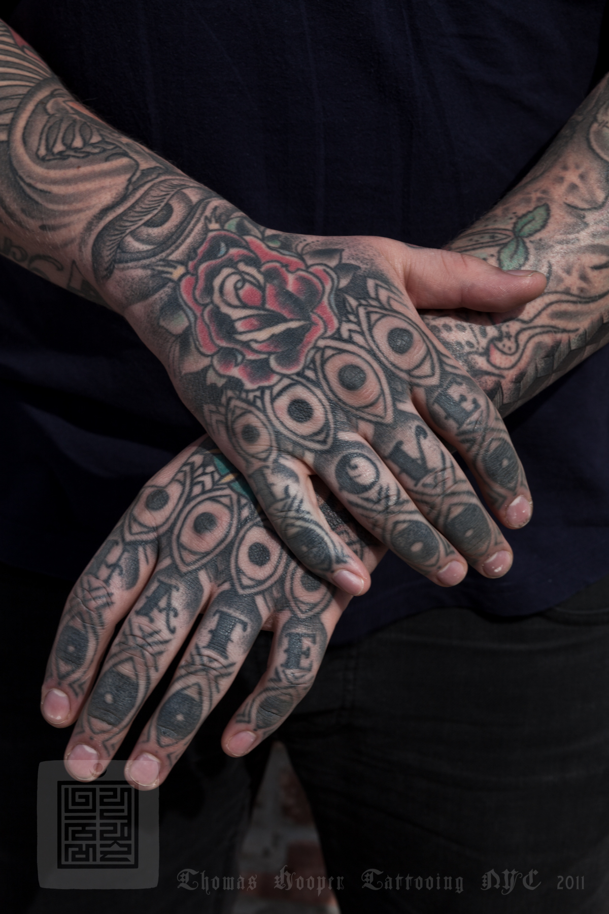 Marvin s hand tattoos thomas hooper 003 march 24 2011 for Electric hand tattoo