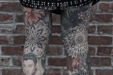 Linda's Legs Tattooing by Thomas Hooper - 007 - July 14, 2011