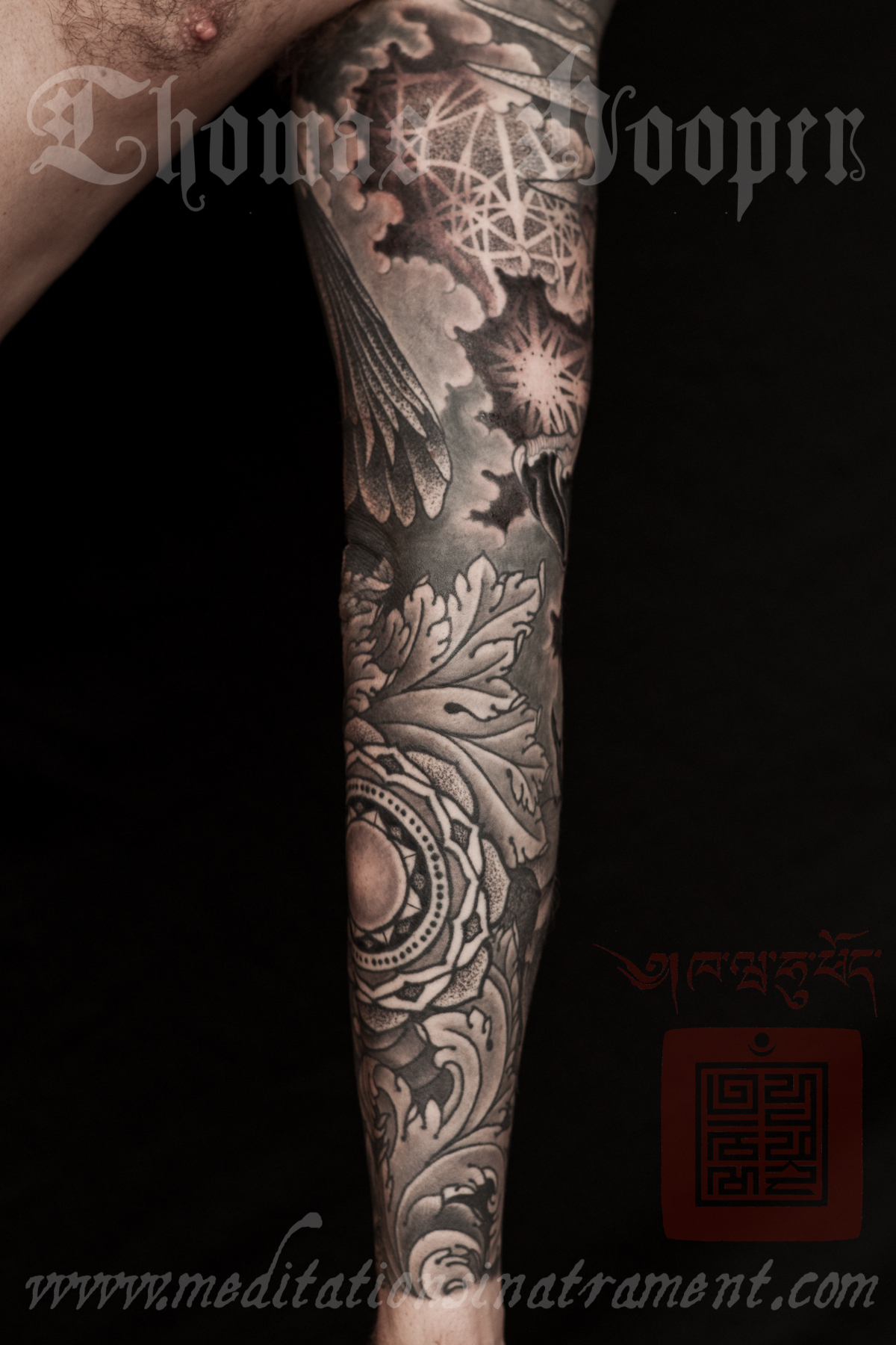 Acanthus Leaves Tattoo
